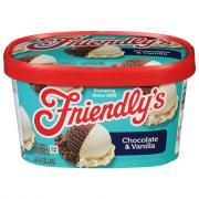 Friendly's Chocolate & Vanilla Ice Cream