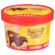 Friendly's Reese's Peanut Butter Cup Sundae