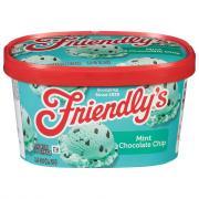 Friendly's Mint Chocolate Chip Ice Cream