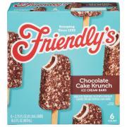 Friendly's Chocolate Cake Krunch Ice Cream Bars