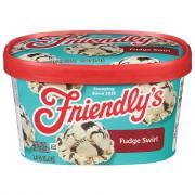 Friendly's Fudge Swirl Ice Cream