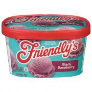 Friendly's Black Raspberry Ice Cream