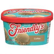 Friendly's Red Box Coffee Ice Cream
