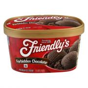 Friendly's Forbidden Chocolate Ice Cream