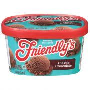 Friendly's Chocolate Ice Cream