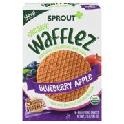 Sprout Organic Blueberry Apple Wafflez Snack