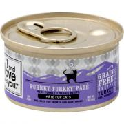 """I and Love and You"" Purrky Turkey Pate Cat Food"