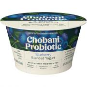 Chobani Probiotic Blueberry Blended Yogurt