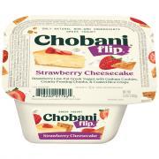Chobani Flip Strawberry Cheesecake Low-Fat Greek Yogurt