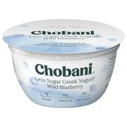 Chobani Hint of Wild Blueberry Yogurt