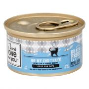 """I and Love and You"" Oh My Cod! Pate Cat Food"