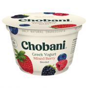 Chobani Mixed Berry Blend 2% Greek Yogurt