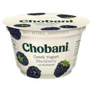 Chobani Blackberry Greek Yogurt