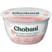 Chobani Hint of Monterey Strawberry Yogurt