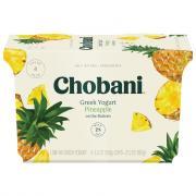 Chobani Pineapple Greek Yogurt