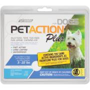 Pet Action Plus Kills Fleas for Small Dogs
