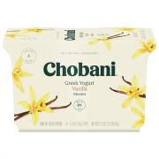 Chobani Vanilla Blended Yogurt