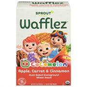 Sprout Organic Wafflez Apple Carrot Cinnamon
