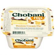 Chobani Flip Boston Cream Pie Greek Yogurt