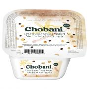 Chobani Less Sugar Greek Yogurt Vanilla Cinnamon Crunch