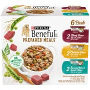Purina Beneful Prepared Meals Variety Pack Dog Food