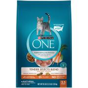 Purina One Tender Selects Blend Chicken Cat Food