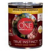 Purina One True Instinct Turkey & Venison Ground in Gravy