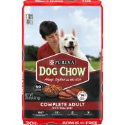 Purina Dog Chow Complete Beef Dog Food