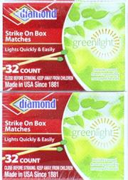 Diamond Safety Pocket Matches