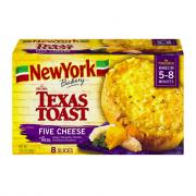 New York Garlic & Five Cheese Texas Toast