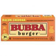 Bubba Bacon Cheddar Burgers