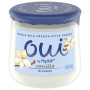 Yoplait OUI French Style Vanilla Yogurt