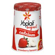 Yoplait Strawberry Banana Yogurt