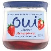 Yoplait OUI French Style Strawberry Yogurt