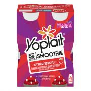 Yoplait Strawberry Smoothie