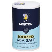 Morton Iodized Sea Salt
