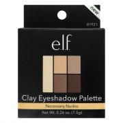 E.L.F. Necessary Nudes Clay Eyeshadow Palette