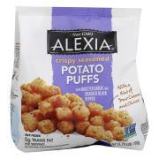 Alexia Crispy Seasoned Potato Puffs with Roasted Garlic