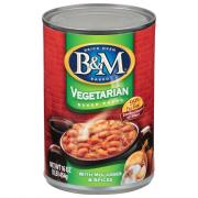 B&M 99% Fat Free Vegetarian Baked Beans