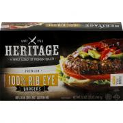 Heritage Rib Eye Burger