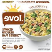 Evol Breakfast Bowl Smoked Uncured Ham Benedict