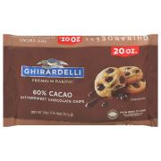 Ghirardelli 60% Cacao Bittersweet Chocolate Baking Chips