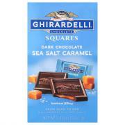 Ghirardelli Dark & Sea Salt Caramel Squares