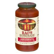 Rao's Arrabiatta Pasta Sauce