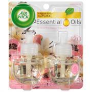 Air Wick Vanilla & Pink Papaya Scented Oil Refills