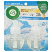 Air Wick Scented Oil Fresh Linen Twin Refill