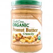 Santa Cruz Organic Light Roasted Crunchy Peanut Butter