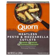 Quorn Meat Free Chicken Cutlets Pesto & Mozzarella