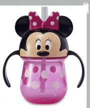 Disney Minnie Trainer with Straw