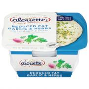 Alouette Light Garlic & Herb Spreadable Cheese